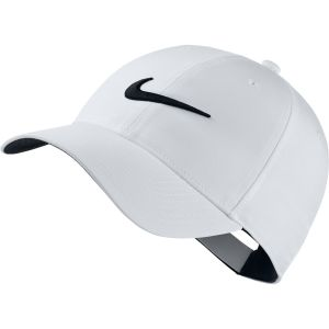 White Embroidered Nike Caps for Sporting Events