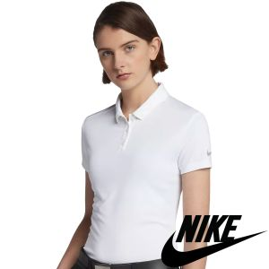 Promotional Nike Women's Dry Fit Polo Shirts made from 100% Recycled Polyester