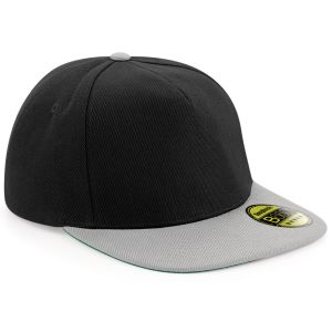 Black/Grey High-quality caps branded in the UK for business, marketing & resale