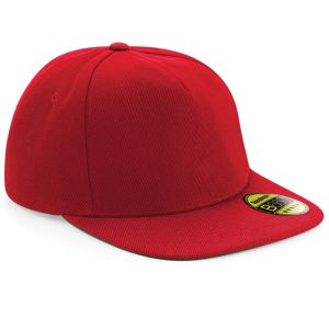 Classic Red Embroidered Snapbacks in Branded Gifts