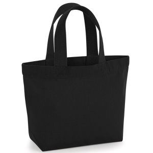Organic Marina Mini Tote Bags in Black