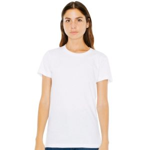 American Apparel Ladies Fine Jersey T-Shirts in White