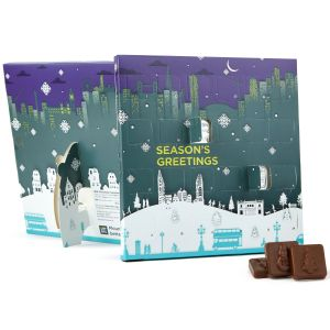 Corporate Branded Advent Calendars with Your Design for Business & Marketing