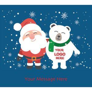 Stock Design BG09 Santa & Polar Bear