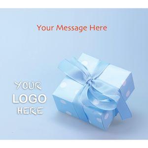 Stock Design BG19 Blue Present