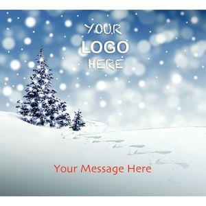 Stock Design BG24 Snowy Scene