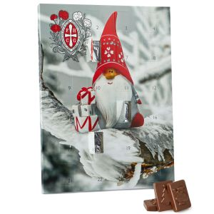 Corporate Branded Advent Calendars Custom Printed with your Bespoke Design