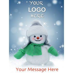 Stock Design BG02 Cartoon Snowman