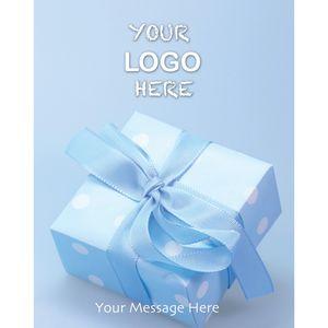 Stock Design BG15 Blue Present