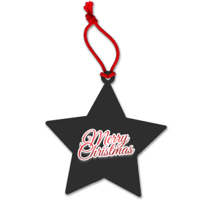Black Corporate Branded Christmas Baubles for Marketing Campaigns
