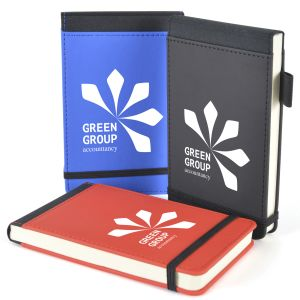 Branded Notebooks and Flip Notepads as Promotional Gifts