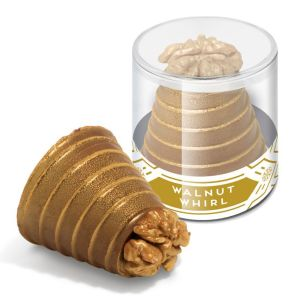 Promotional Clear Pot Walnut Whirls