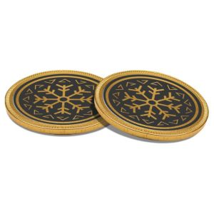 Promotional 38mm Chocolate Medallions