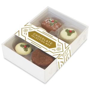 Promotional Christmas Truffle Chocolate Boxes