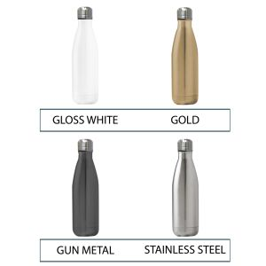Promotional Metal Bottles Engraved with your Company Logo