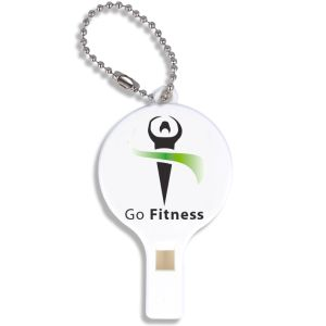 Promotional Recycled Plastic Whistle Keychains for Giveaways