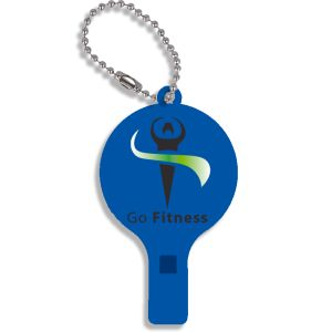 Branded Whistle Keyring with Company Logos