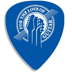 Branded Guitar Pick for Shop Resale