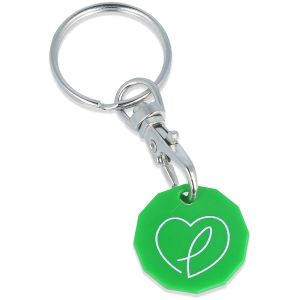 Full Colour Printed Trolley Token for Business Gifts