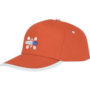 PromotionalNestor 5 Panel Piping Cap with Logos