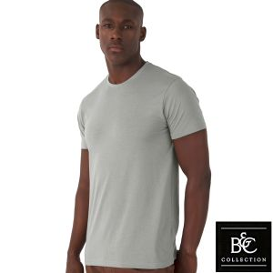 Organic Cotton Promotional T-Shirt In Light Grey