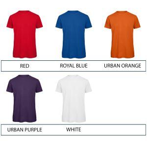 B & C Inspire Men's Organic Printed T-Shirts