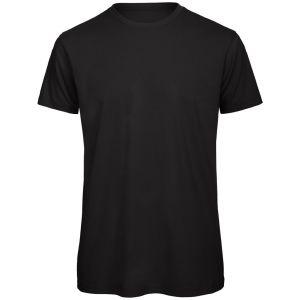 Organic Cotton Promotional T-Shirt In Black