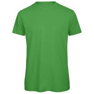 Organic Cotton Printed T-Shirt In Green