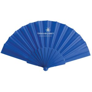 Corporate Branded Folding Fans as Promotional Giveaways