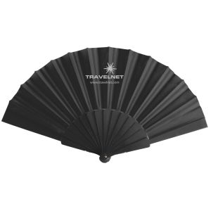 Custom Printed Fabric Folding Fans for Marketing Campaigns