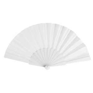 Promotional folding fans as practical custom printed giveaways