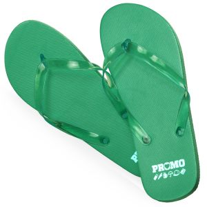 Flip Flops in Green