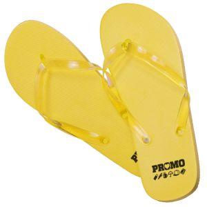 Flip Flops in Yellow