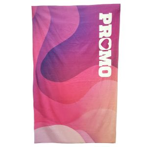 Branded Large Full Colour Beach Towels Printed with Your Design