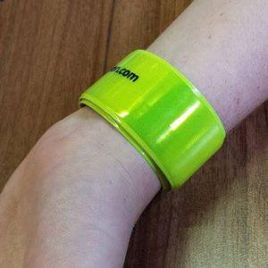 Easy-wear Reflective Slap Wrap Wristbands