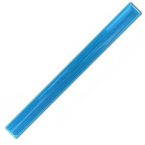 Sky Blue Reflective Slap Wrap wristband