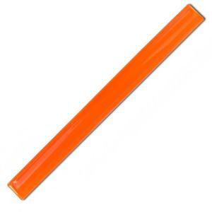 Orange Reflective Slap Wrap Wristband