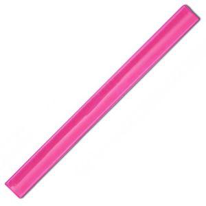 Pink Promotional Reflective Slap Wraps