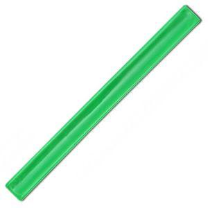 Neon Green Reflective Slap Wrap Wristbands