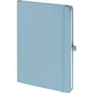 Pastel Blue Soft Feel Promotional Notebooks