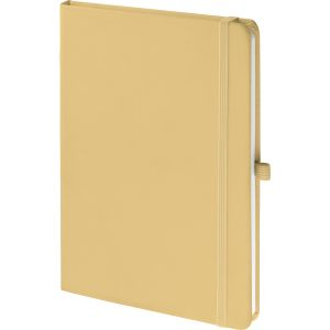 Logo Printed Notebooks In Pastel Yellow