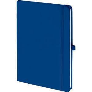 Branded Soft Feel Notebooks In Royal Blue
