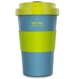 BamBroo Travel Mug in Teal & Greenery
