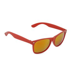 Red branded sunglasses