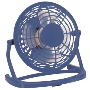 Branded Fan In Blue