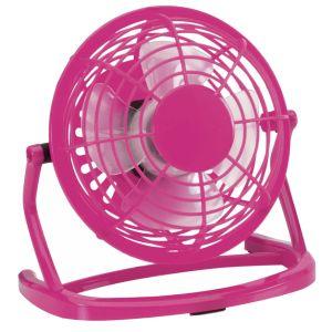 Promotional Desktop Fan In Pink
