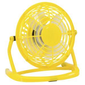 Personalised Fan In Yellow