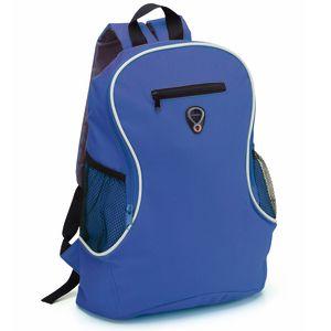 Branded Sports Bag In Blue