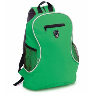 Printed Backpack In Green