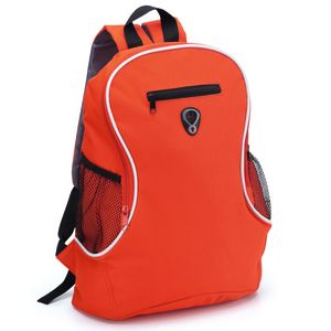 Branded Backpack In Red
